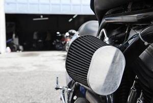motorcycle mechanic shop