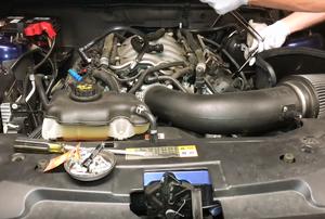 An engine.