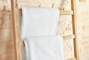 A towel rack.