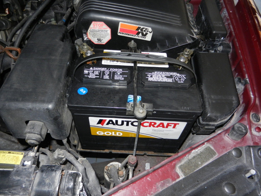 Toyota Camry 1997 To 2011 How Reset Your Ecu And Clear Check 2007 Hybrid Fuse Diagram Battery