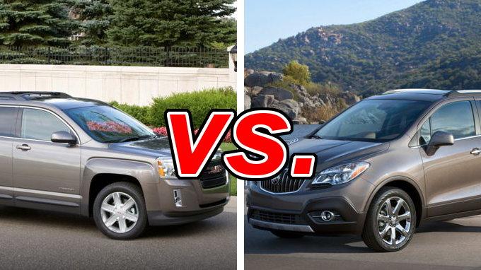 GMC Terrain vs. Buick Encore - CarsDirect