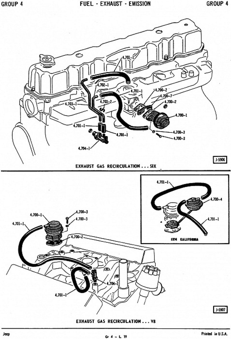 Jeep Cherokee Xj 1984 To 2001 Why Does Car Idle Rough Cherokeeforum 96 Spark Plug Wiring Diagram Step 5 Test And Clean Egr Valve