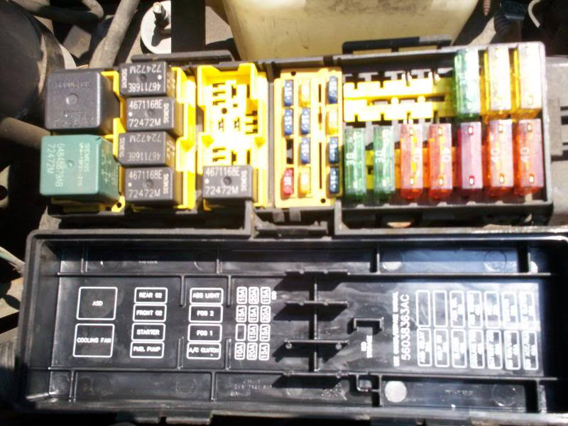 Zps A C on Jeep Fuse Box