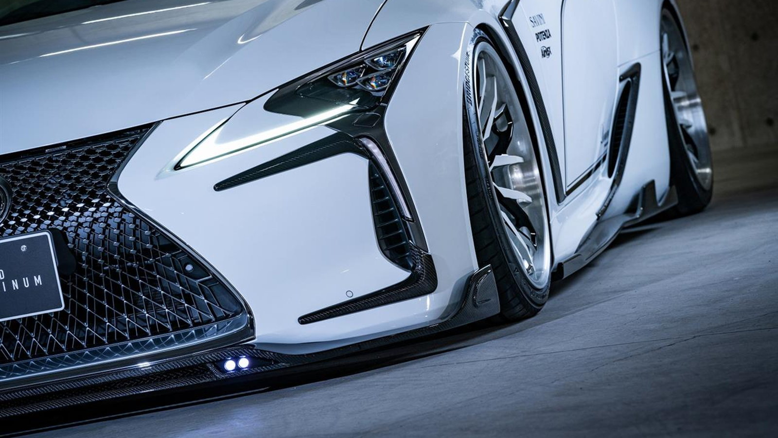 Rowen Hits Tokyo with Tasteful Body Kit for LC 500