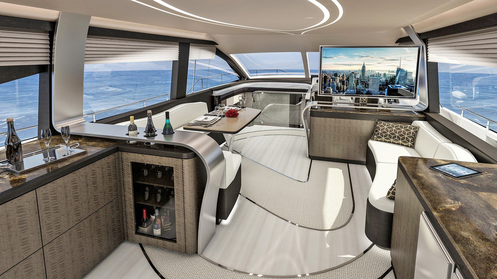 LY 650 Luxo Yacht Because the Water Needs a Lexus Too