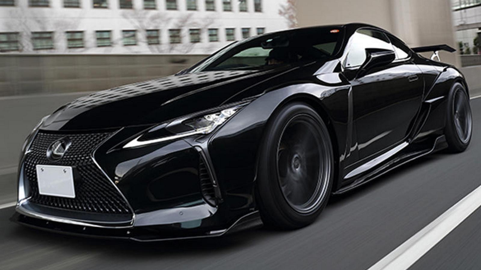 Artisan Spirit's Widebody Kit Makes Hot Lexus LC Even Hotter