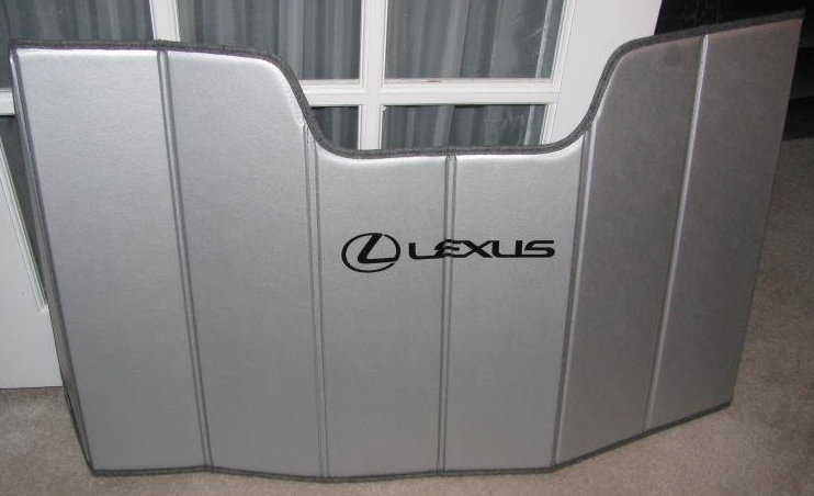 lexus front window shade reviews clublexus. Black Bedroom Furniture Sets. Home Design Ideas