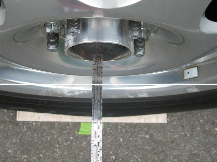 Lexus how to align your tires clublexus measure the distance between the wheel and the string solutioingenieria Images