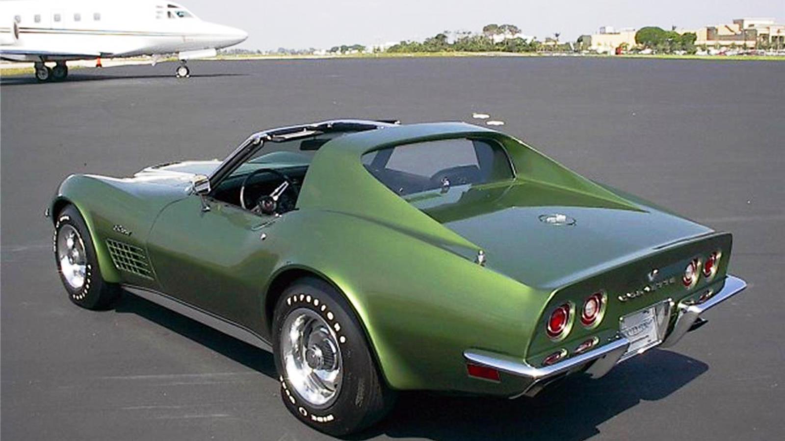 1972 Corvette in Elkhart Green