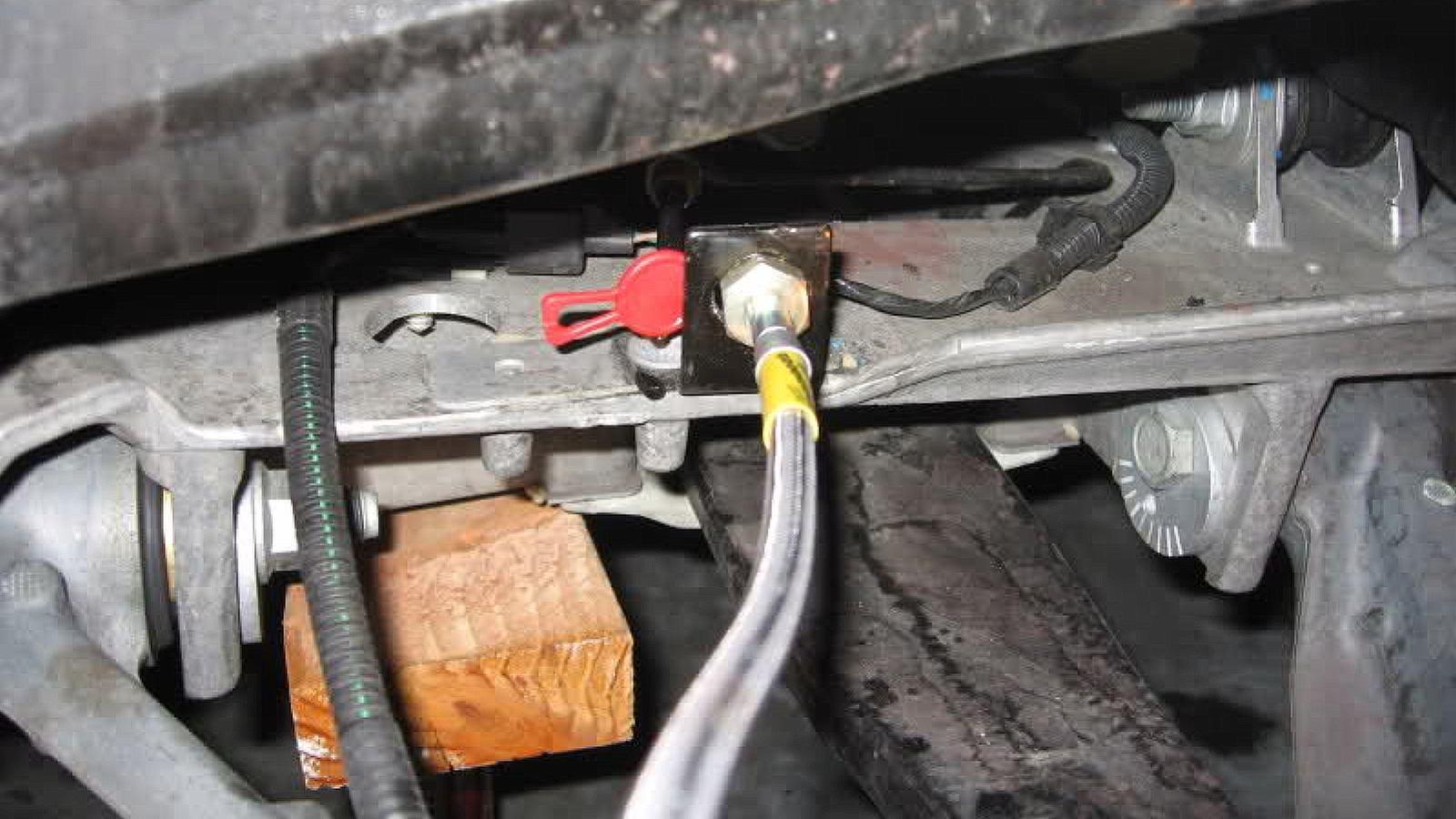 When To Change Brake Lining : C corvette how to replace brake line corvetteforum
