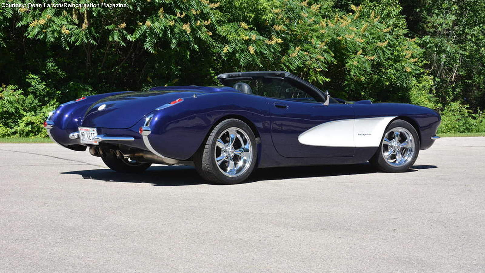 Mr. Vette's 1957 C1 Built on a C5 Chassis