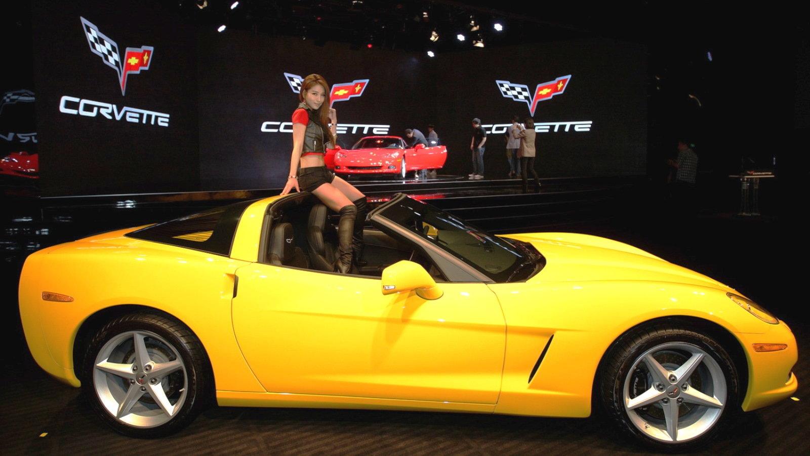 Corvette C6 in Korea