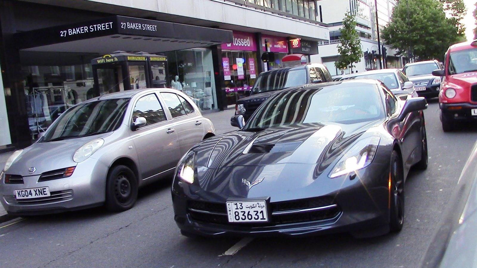 Kuwaiti Corvette in London