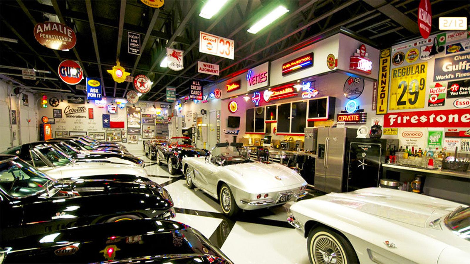 Ultimate garage, man cave, renovation