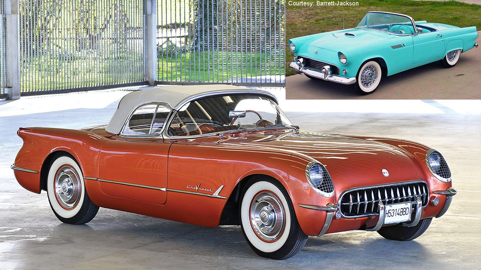 Corvette Year-By-Year Comparo: 1955