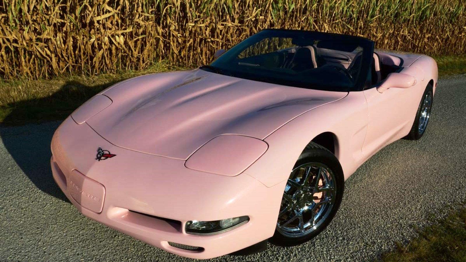 1998 Pink Ice Corvette