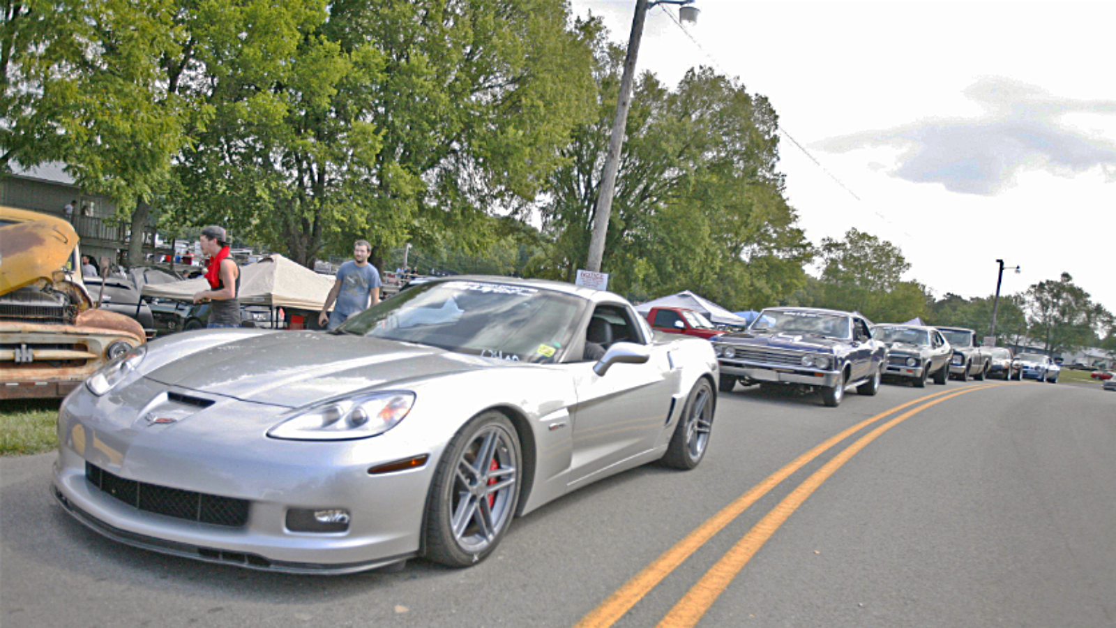 Corvettes Hit the Road at Holley LS Fest East
