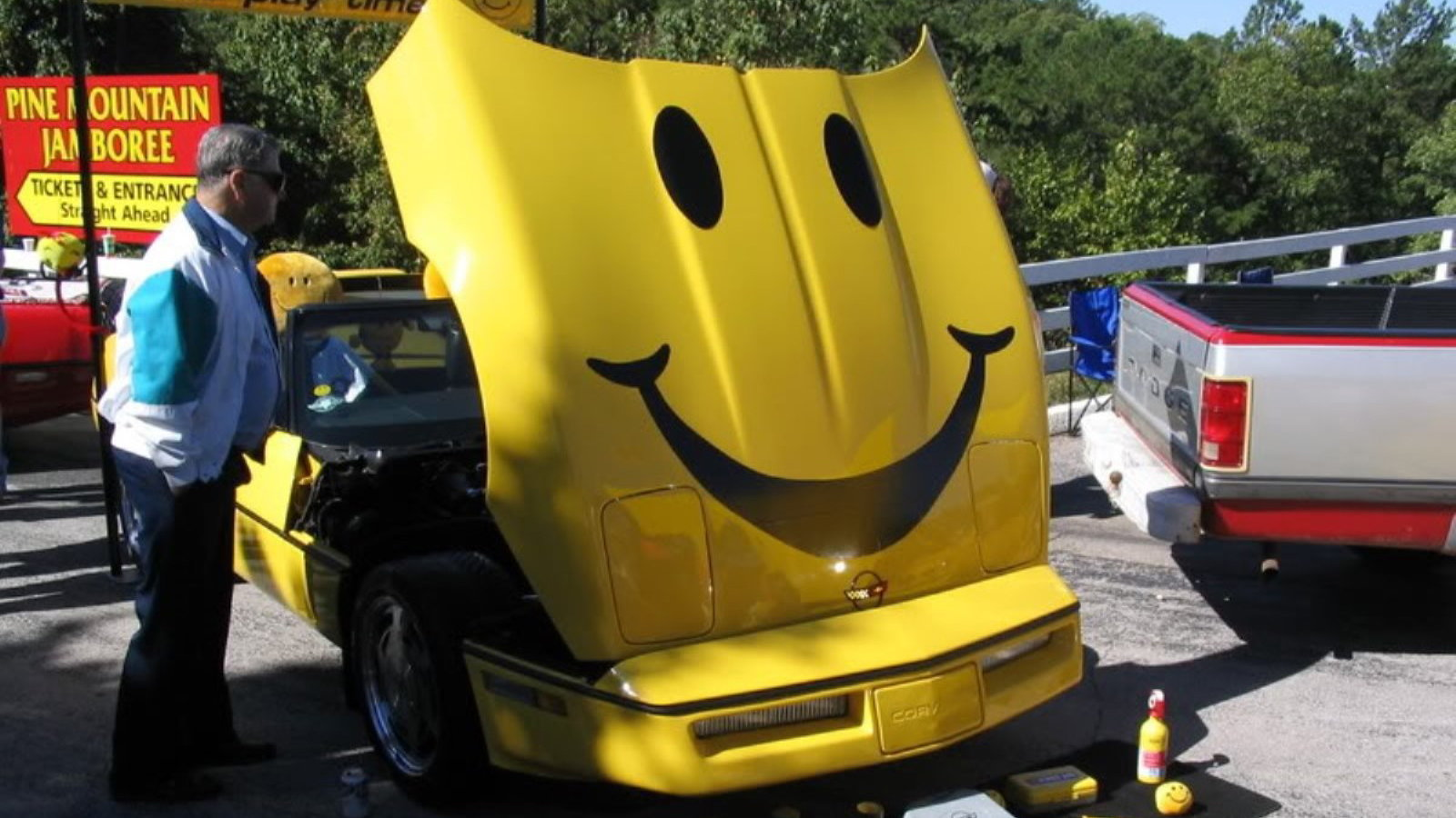 Smiley Face Corvette