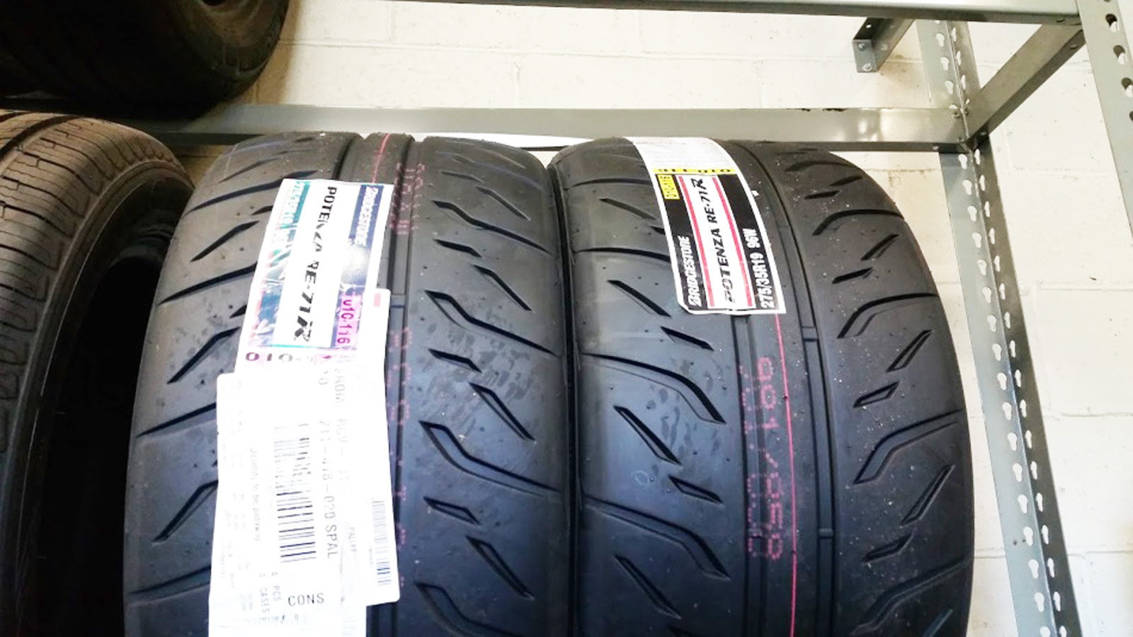 Bridgestone RE71 Tires