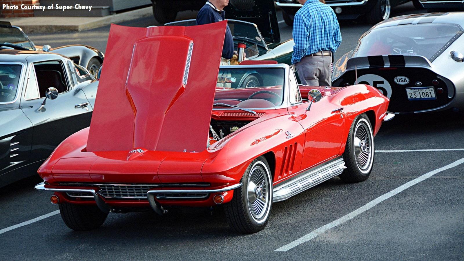 Corvettes At Coker Tire CruiseIn Corvetteforum - Coker tire car show