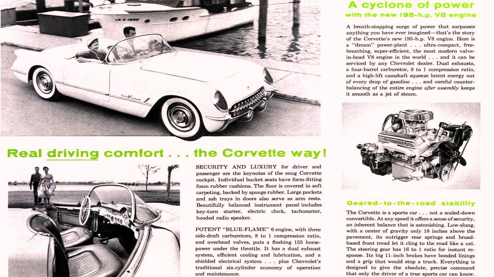 Who Wants a Six Cylinder Corvette Anyway?