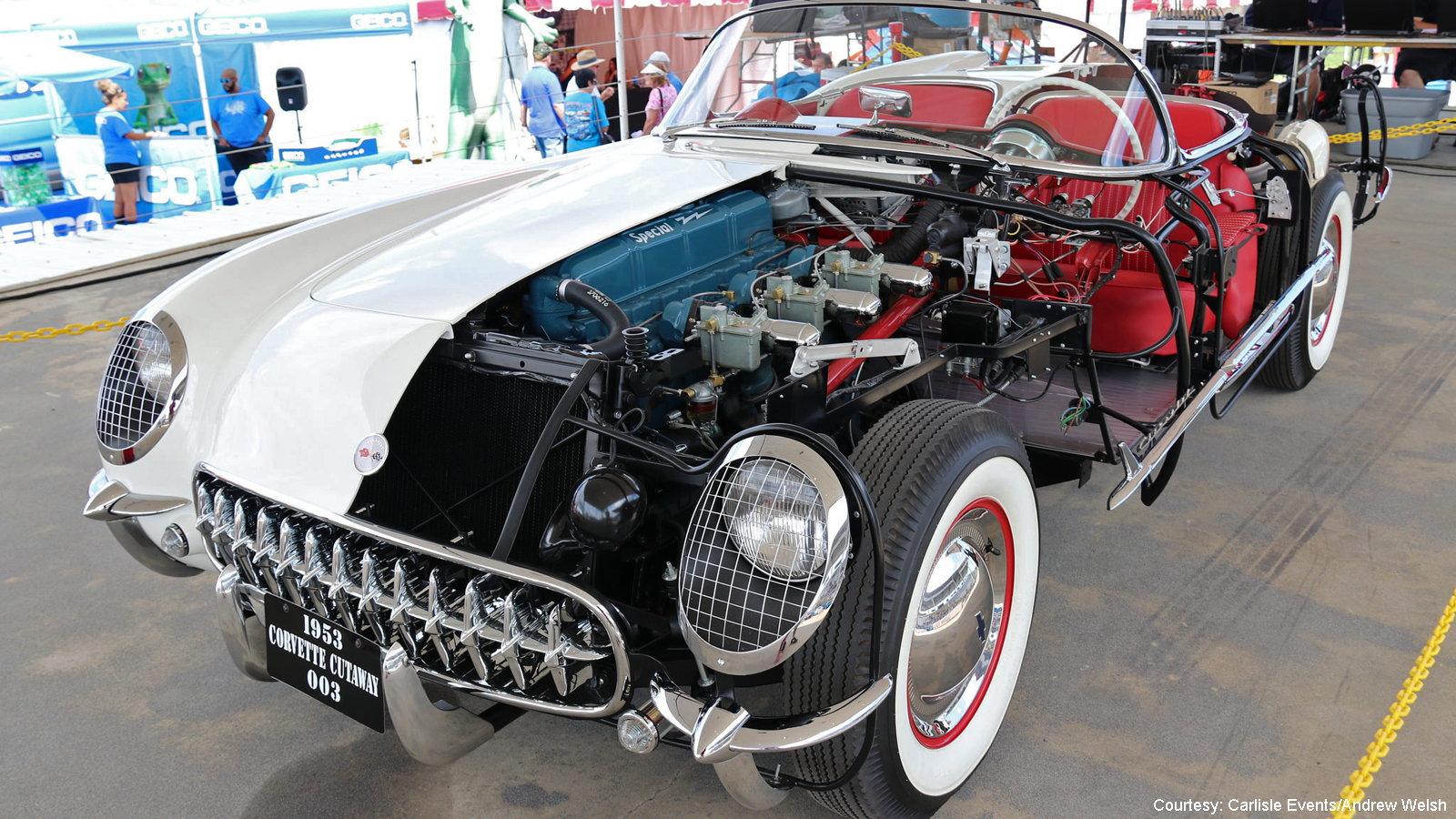 Cutaway Corvette