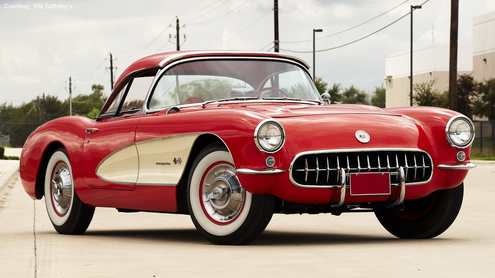 Corvette Year-by-Year Comparo: 1957