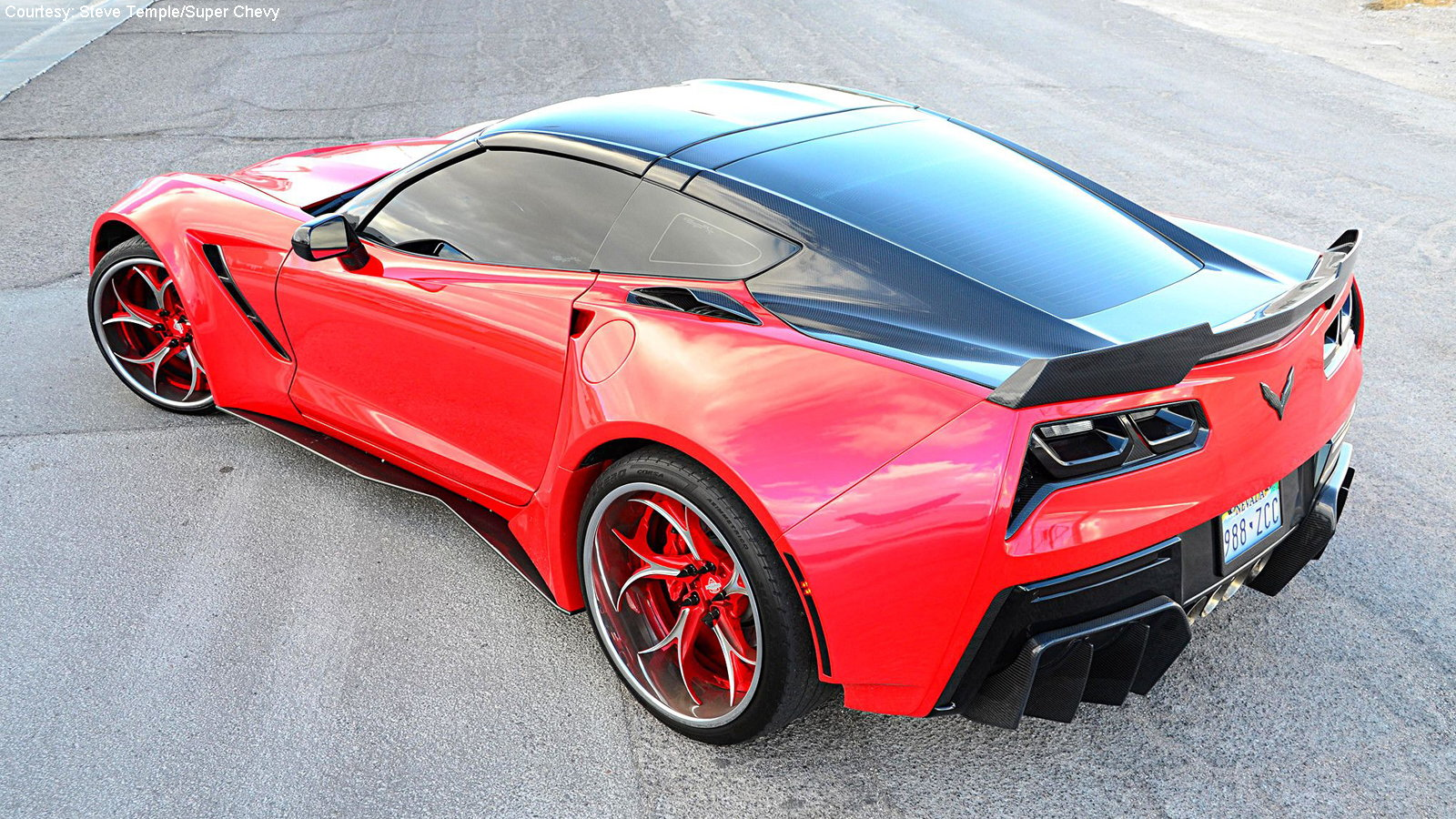 Widebody Corvette Looks as Good as it Drives