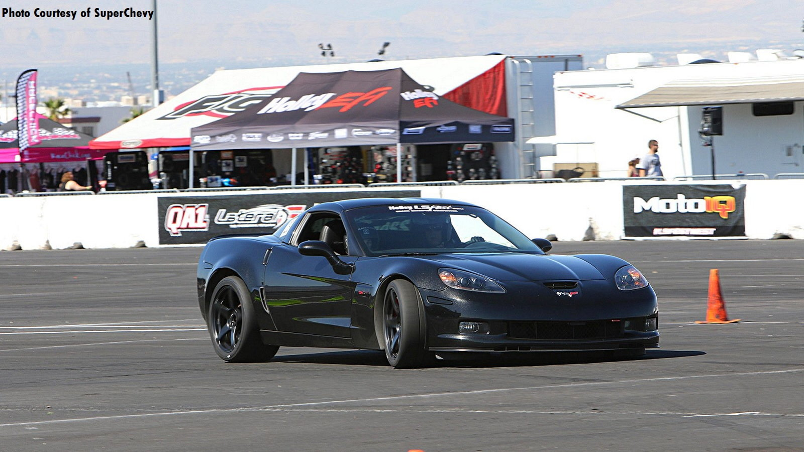 Corvettes Taking Over at Holley LS Fest West