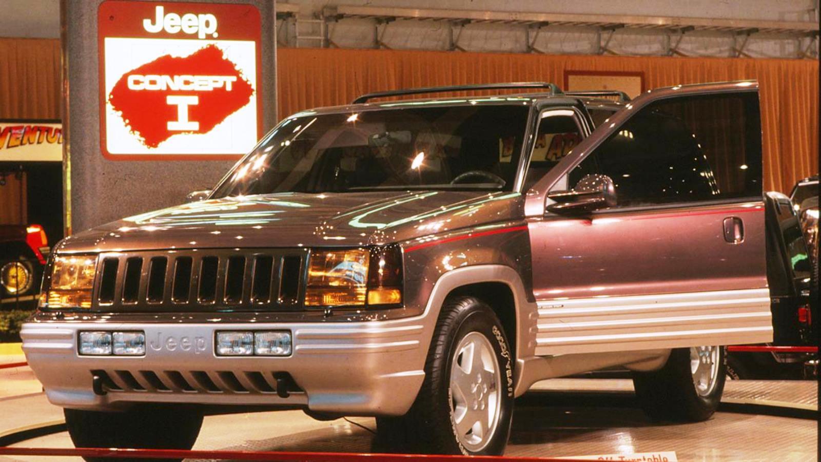 1993-98 Jeep Grand Cherokee