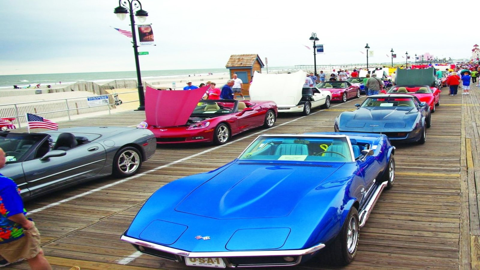 Boardwalk Corvette Show