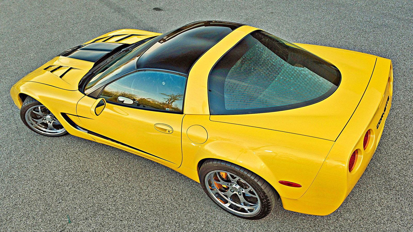 2003 Widebody C5 in Millennium Yellow Goes Quick