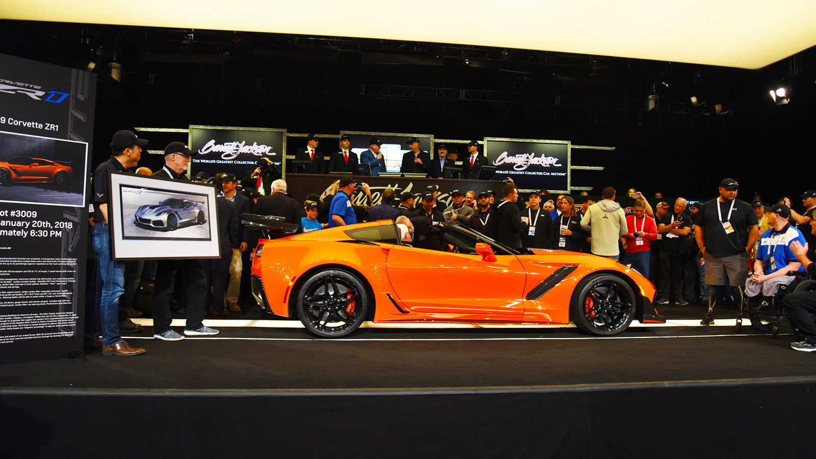 Behind the Scenes of the ZR1 VIN 001 Auction
