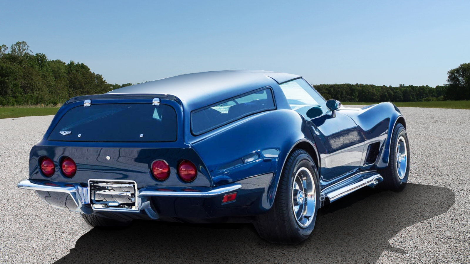 C3 Corvette Station Wagon Fit for a Drummer