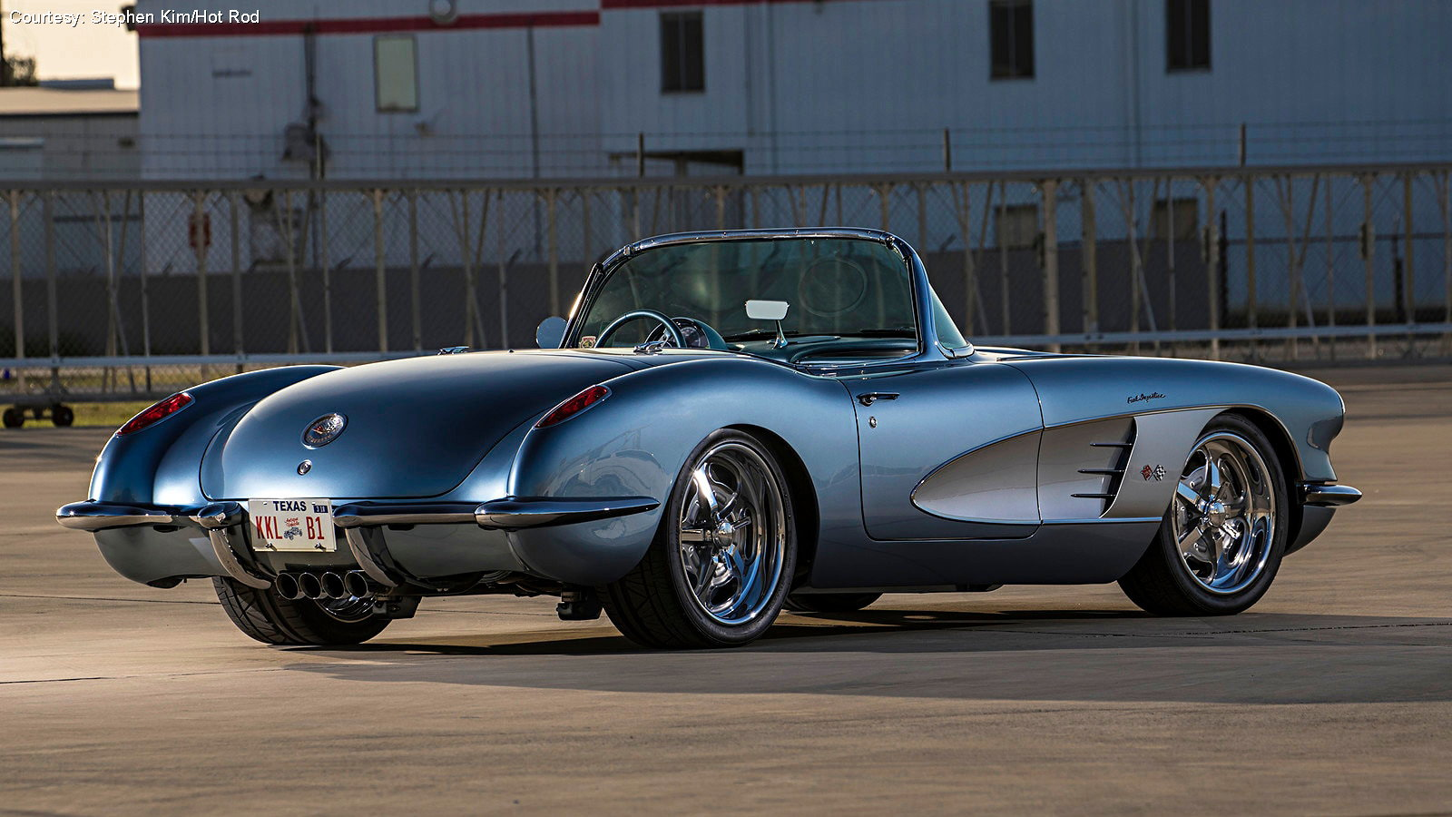 LS Swapped 1959 Corvette