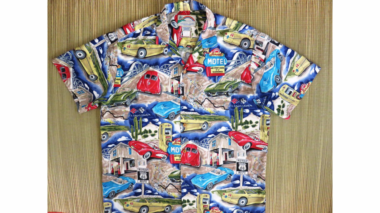 Corvette Hawaiian Shirt Gift Dad