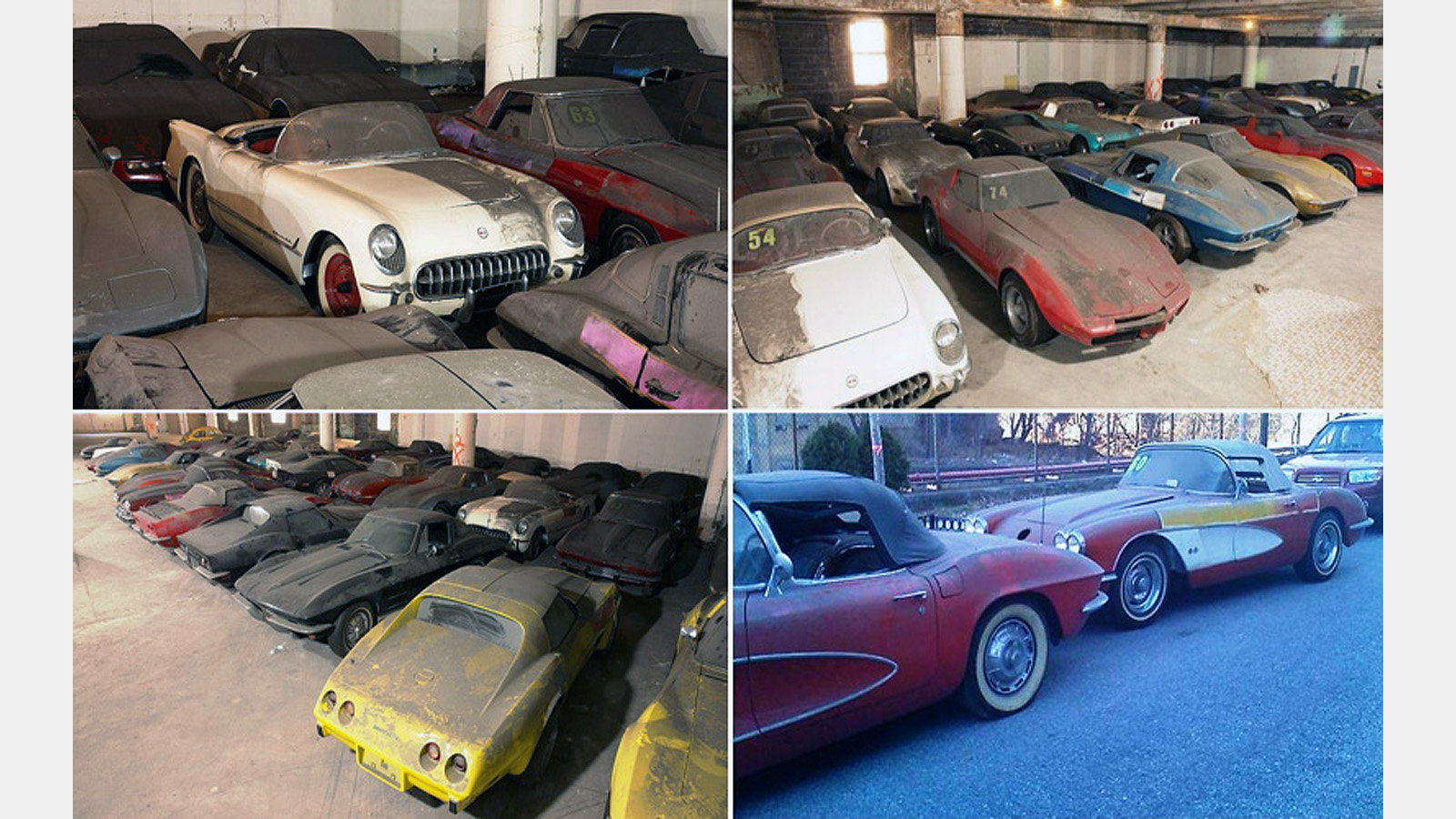Barn finds, Corvette, Rare
