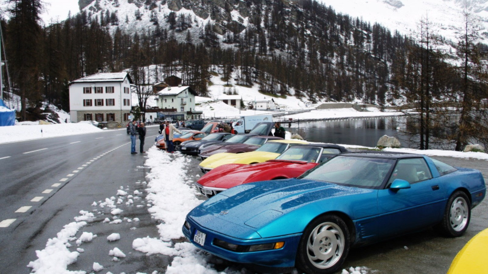 Yes, You Can Drive a Corvette in Snow