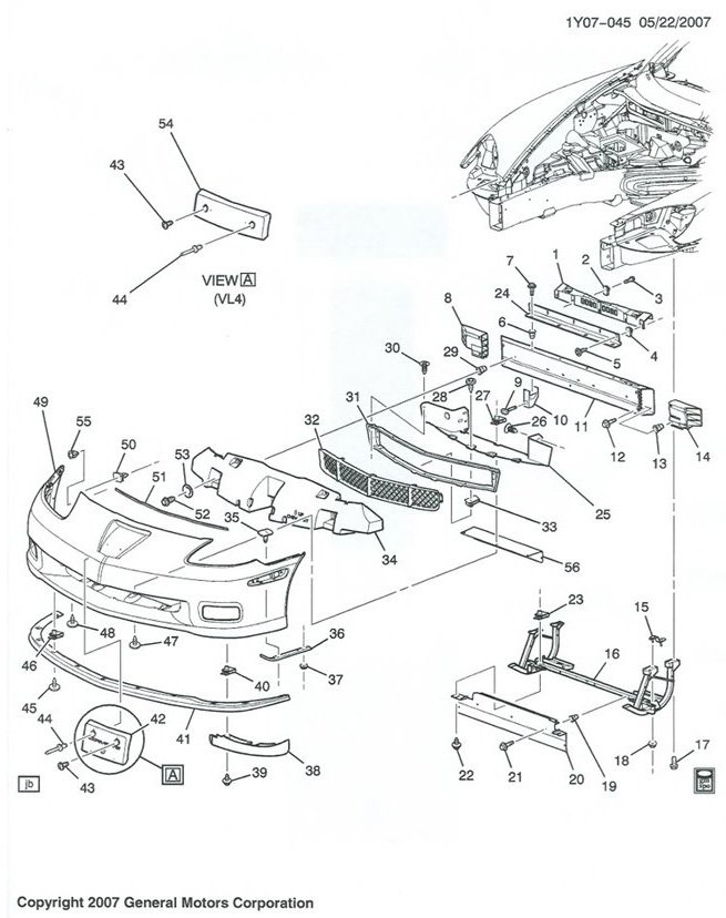 c corvette parts diagram c image wiring diagram c6 corvette parts diagram c6 auto wiring diagram schematic
