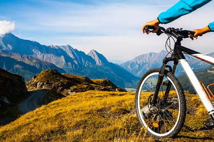 Image of person on a bike.
