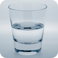image of glass of water.