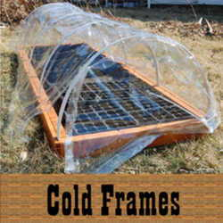 how to make a cold frame for raised garden bed