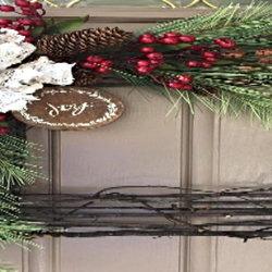 unique twig wreath