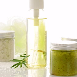 A batch of spa products