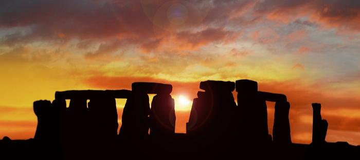 Stonehenge at sunrise
