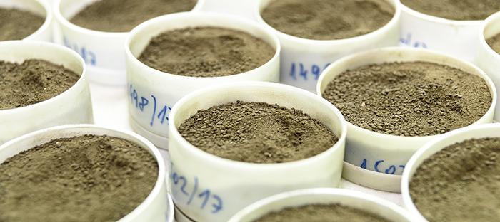 Soil Samples for Testing