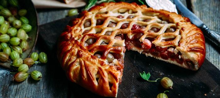 gooseberries and gooseberry pie