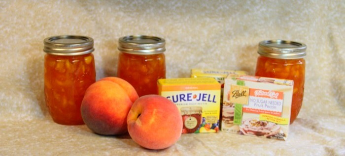 peaches and peach jam