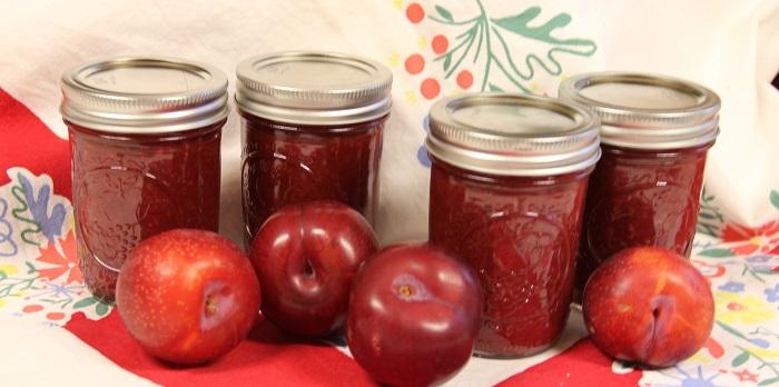 plums and plum sauce