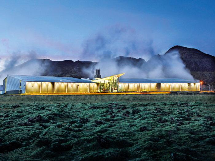 icelandic geothermal greenhouses